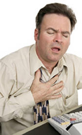 L'image de infarctus